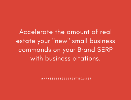 Brand SERP Acceleration with Citations