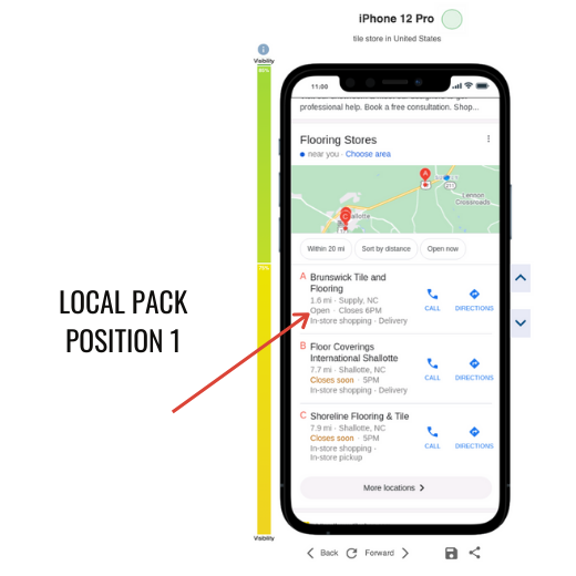 Local SEO by Top of Search